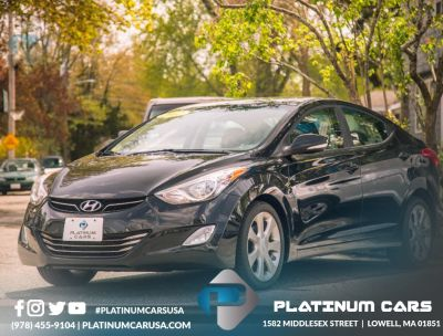 2012 Hyundai Elantra GLS (Black)