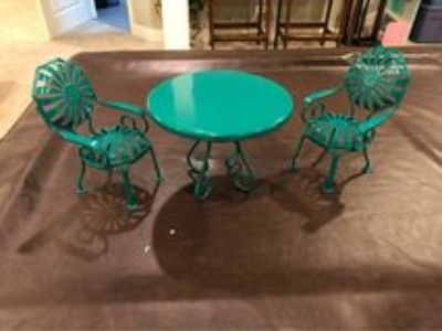 American Girl Kit Table and Chairs