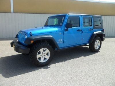 $24,995, 2009 Jeep Wrangler Unlimited X