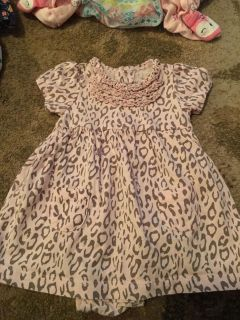Carters 3m pink/brown dress w/onesie - ppu (near old chemstrand & 29) or PU @ the Marcus Pointe Thrift Store (on W st)
