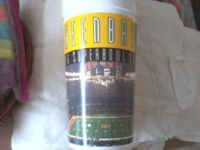 Packer Cups - 1996 Superbowl - 16 oz
