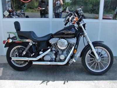 1998 Harley-Davidson Dyna Super Glide (Black) w/ Low Miles! Cruiser Williamstown, NJ