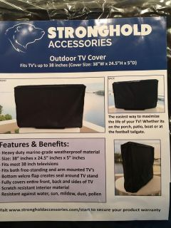 Outdoor TV Cover - New