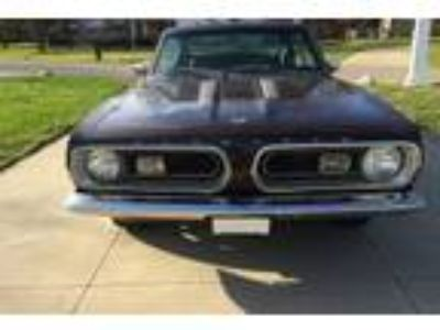 1967 Plymouth Barracuda Formula S Fastback 383