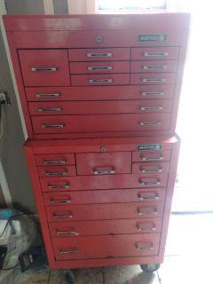 Matco 20 drawer took box
