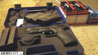 """For Sale/Trade: Upgraded M&P45 4.5"""" w/ 6 mags"""