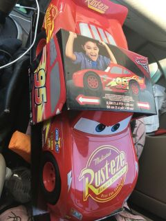 New large lightning McQueen toy retails for $25