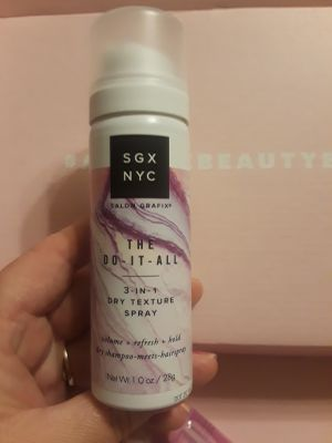 New SGX NYC the do it all, 3 in 1 texturizing dry shampoo
