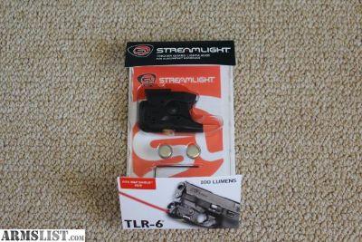 For Sale: STREAMLIGHT TLR 6