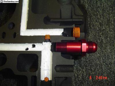 JayCee Main full flow exstenion adapter