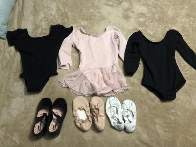 Dance clothing/shoes