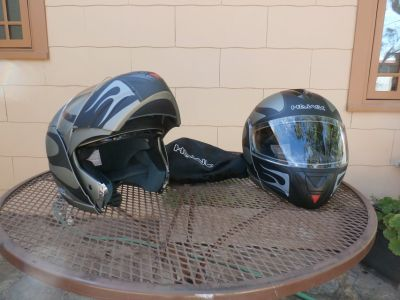 LIKE NEW MODULAR HELMETS