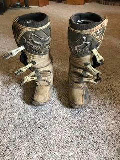 Fox Motorcycle Riding Boots - Mens 9