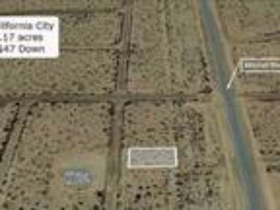 Land for Sale by owner in California City, CA
