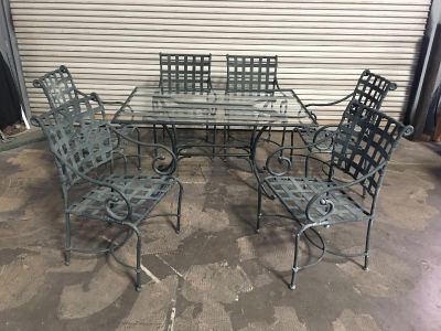Rectangle Patio Table Set