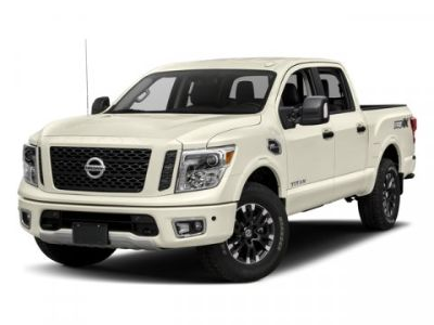 2018 Nissan Titan PRO-4X (Pearl White)