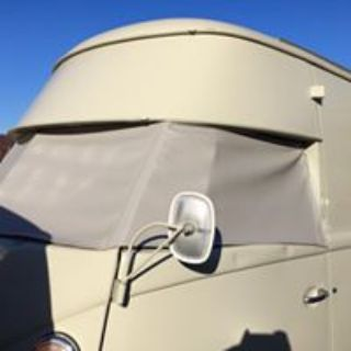 Split bus windshield covers - custom colors