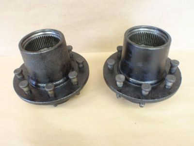 Find 2 SRW HUBS FORD F350 DANA 60 FRONT SINGLE WHEEL HUB DUALLY CONVERSION 78-97 motorcycle in Ogden, Utah, US, for US $199.00