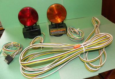 12-Volt Magnetic Towing Light Kit - used