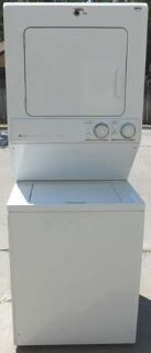 STACK MAYTAG WASHER & ELECTRIC DRYER