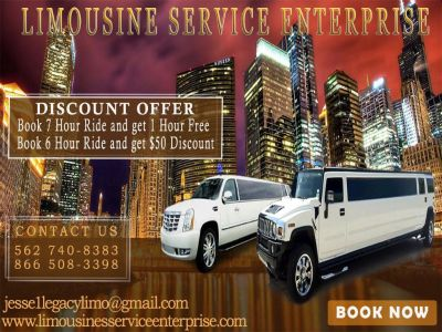 Limousine Rental Service in Orange city