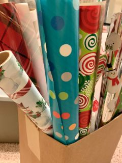 Wrapping Paper Lot