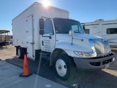 2009 international DuraStar 4300 Single Axle Refrigerated Truck,