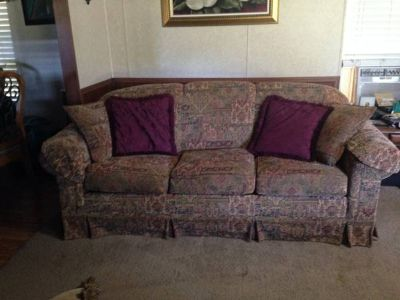 Couch  Love seat with pillows