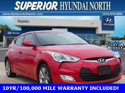 2017 Hyundai Veloster Base (Boston Red Metallic)