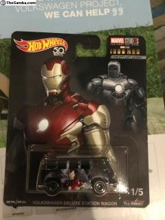 Hot Wheels marvel Iron Man bus New in Box