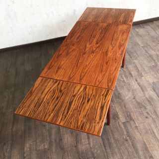 Mid Century restored Danish Teak Dining table
