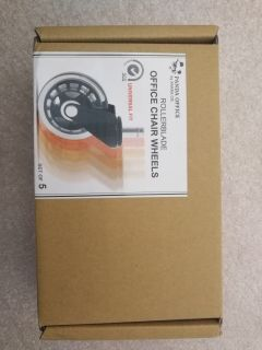 Office chair wheels brand new not opened box