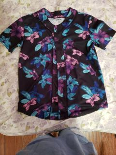 Floral shirt Small