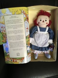 Limited Edition Storybook RaggedyAnn Doll