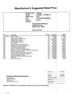 2013 Dutchmen Voltage 3950