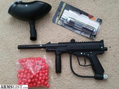 For Sale/Trade: LIKE NEW Paintball gun ready for battle
