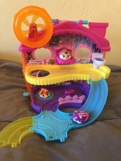 Hamster in a house playset