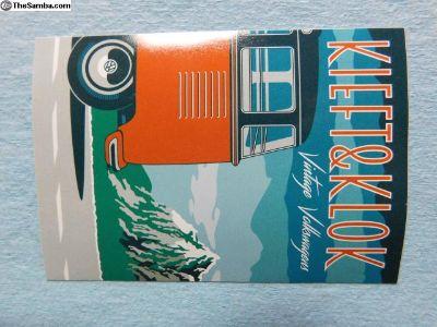 Kieft & Klok Vintage Volkswagens sticker