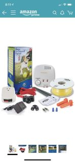 New Petsafe wired electric fence