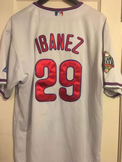 Ibanez World Series jersey majestic authentic