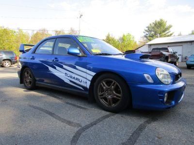 2002 Subaru Impreza WRX (WR Blue Pearl)