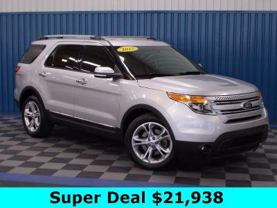 2015 Ford Explorer Limited (Ingot Silver Metallic)