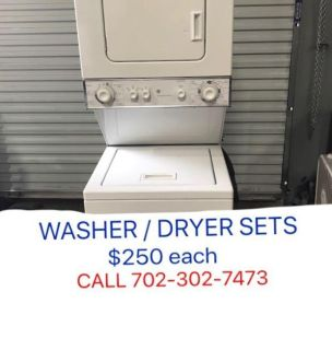 GE Spacemaker Washer / Electric Dryer Sets