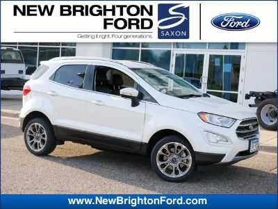 2018 Ford EcoSport Titanium (White Platinum Metallic Tri-Coat)