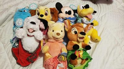 Disney Babies Plush with Blankets