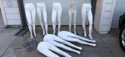 Mannequin full lower body legs feet mannequins Halloween Props Clothing Store Display