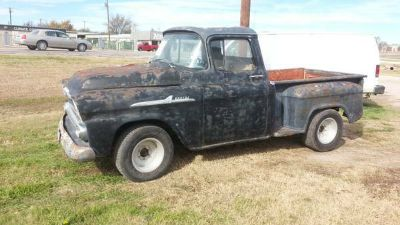 58 CHEVROLET APACHE SHORT BED PICK UP TRUCK (NUECES COUNTY)