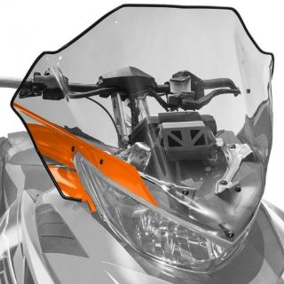 Purchase Arctic Cat Mid Windshield Clear Tinted with Orange 2012-2017 ZR F XF M, 7639-370 motorcycle in Sauk Centre, Minnesota, United States, for US $107.99