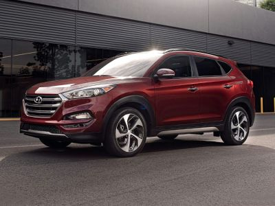 2018 Hyundai Tucson Limited (Red)