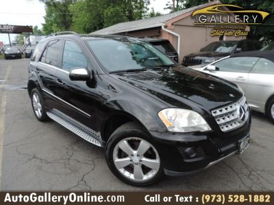 2010 Mercedes-Benz M-Class ML350 4MATIC (Black)